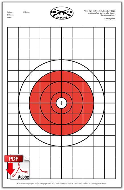 Shooting Target Pdf