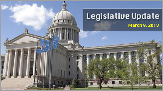 Legislative Update, Mar 9th