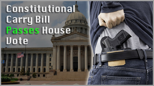 SB1212 Constitutional Carry Passes House Vote
