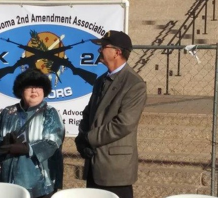 Denise Hartley, Rex Duncan - OK2A Board Members