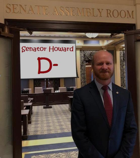 Senator Brent Howard, Oklahoma