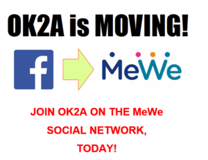 OK2A moves from Facebook to MeWe